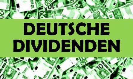 Deutsche Dividenden Aktien