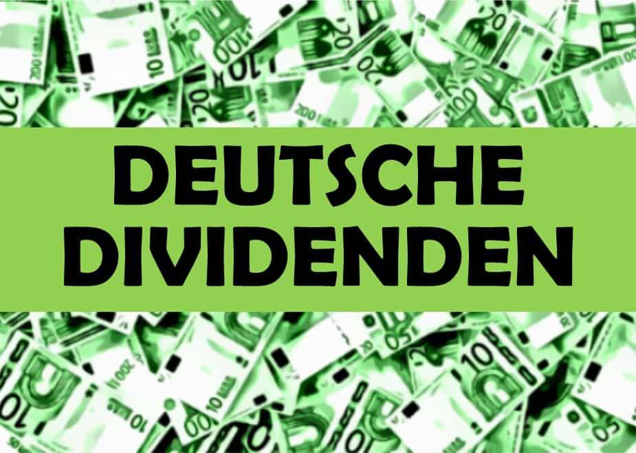 Deutsche Aktien mit hoher Dividende 2021: Top-Dividendenrendite