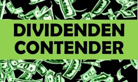 Dividenden Contender Klein Dividendenwachstum Aktie