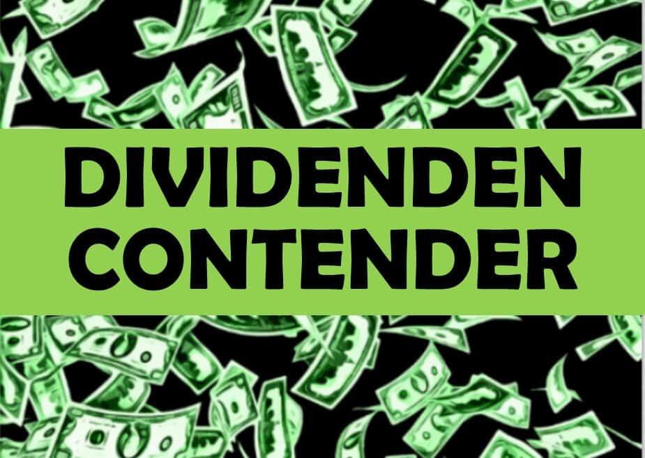 Die 10 günstigsten Dividenden Contender Aktien mit hoher Rendite!