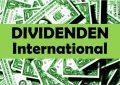 Dividenden International Aktien