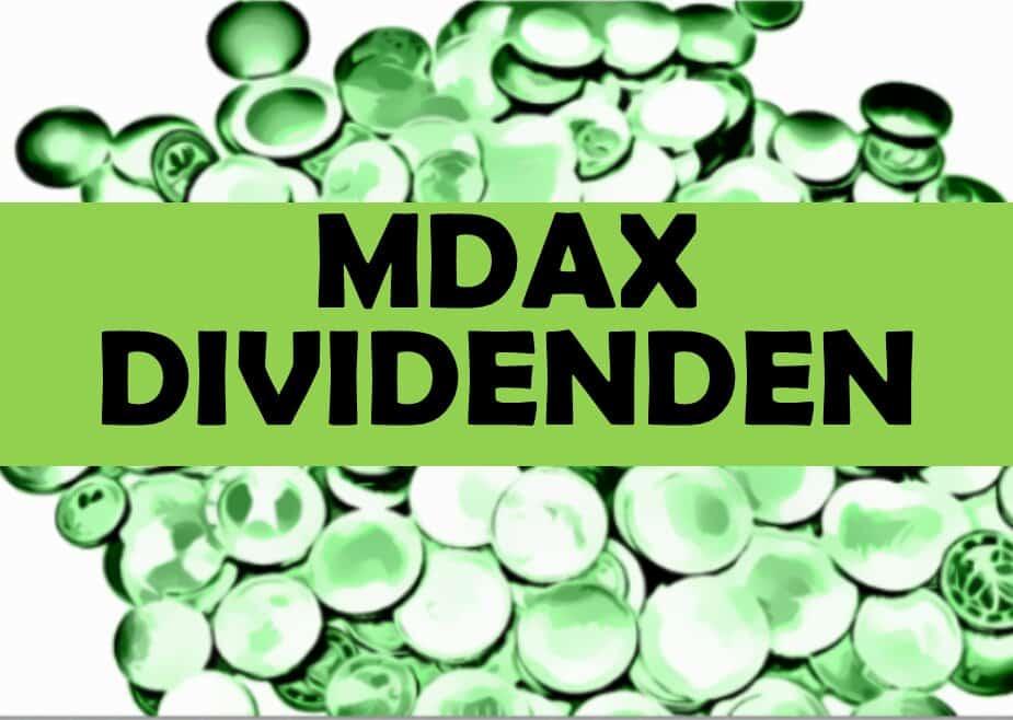MDAX Dividenden Klein Dividendenwachstum Aktien