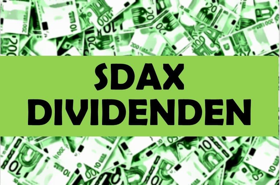 SDAX Dividenden Klein Dividendenwachstum Aktien