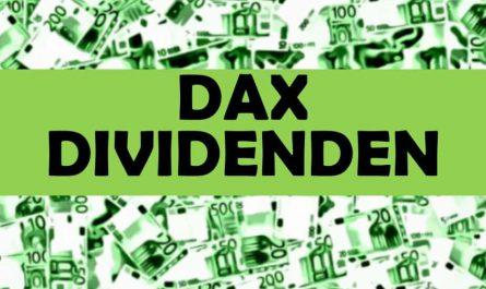 DAX Dividenden Dividendenrenditen