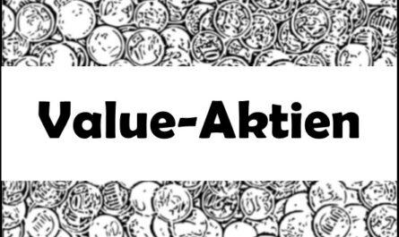 Value Aktien Unterbewertete Unternehmen